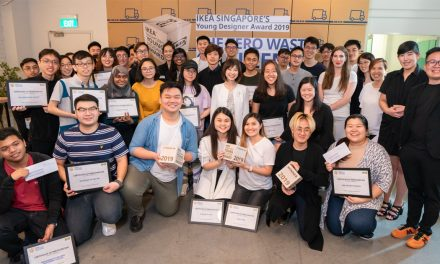 Here are the winners of IKEA Singapore's Young Designer Award 2019