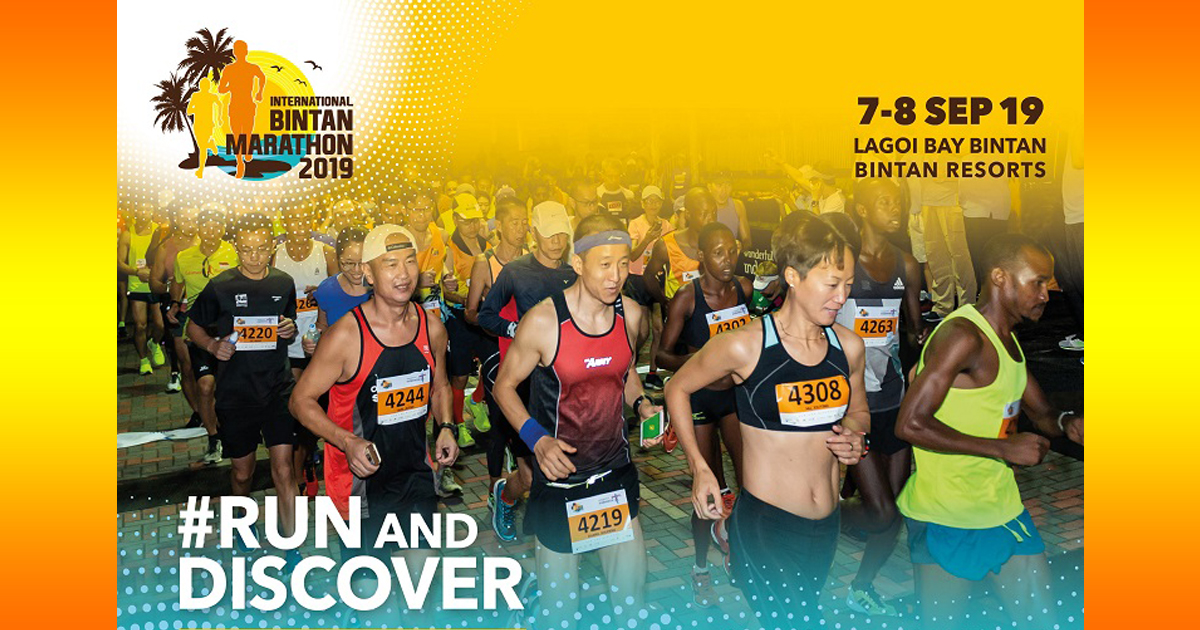 International Bintan Marathon 2019 – Register before 31 July and enjoy a special rate