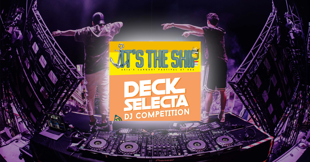 Deck Selecta 2019 – Calling all aspiring DJ's to showcase their talent alongside their favourite artists