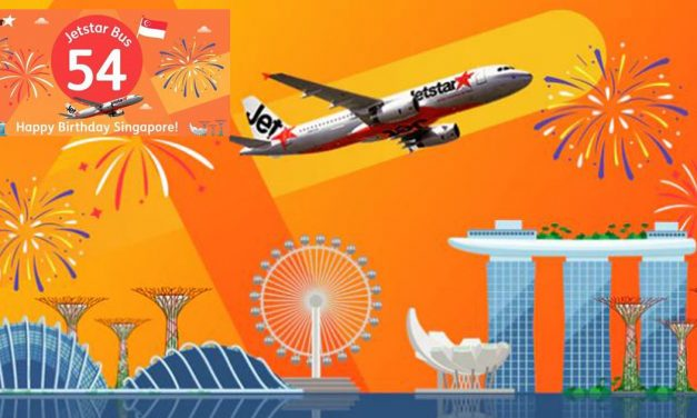 [TICKET SALE] Book at Jetstar and win a pair of seats of the exclusive Jetstar Bus 54 Tour this National Day