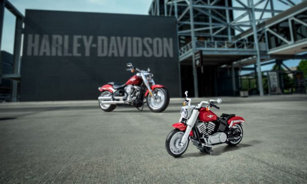 LEGO introduces creator expert Harley-Davidson Fat Boy available at LEGO Stores starting 1 August