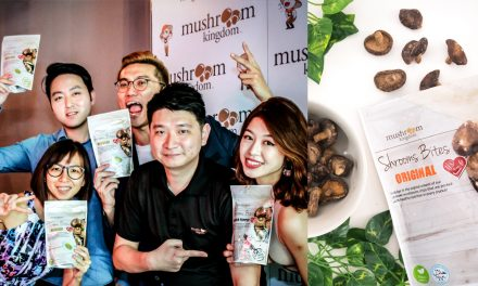 Shiitake mushroom chips is the perfect snack that won't ruin your diet and it's only $5.50