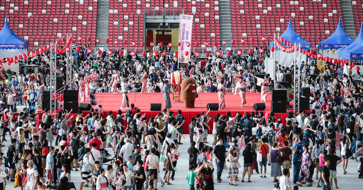 [EVENT DETAILS] The Largest Natsu Matsuri is happening at the National Stadium this September - Alvinology