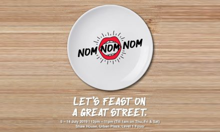Nom Nom Nom Food Festival Debuts at Orchard Road – Here's everything you need to know