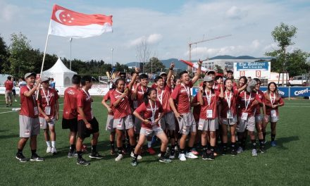 Singapore ultimate frisbee team ranks #3 in World Under-24 Ultimate Championships, clinches bronze medal
