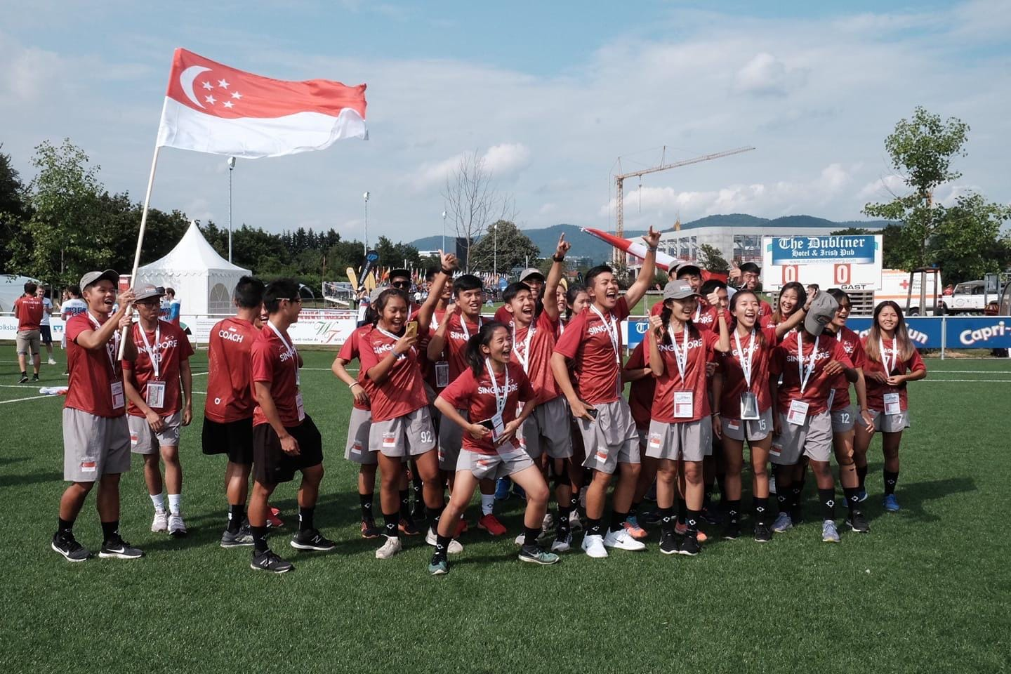 Singapore ultimate frisbee team ranks #3 in World Under-24 Ultimate Championships, clinches bronze medal - Alvinology