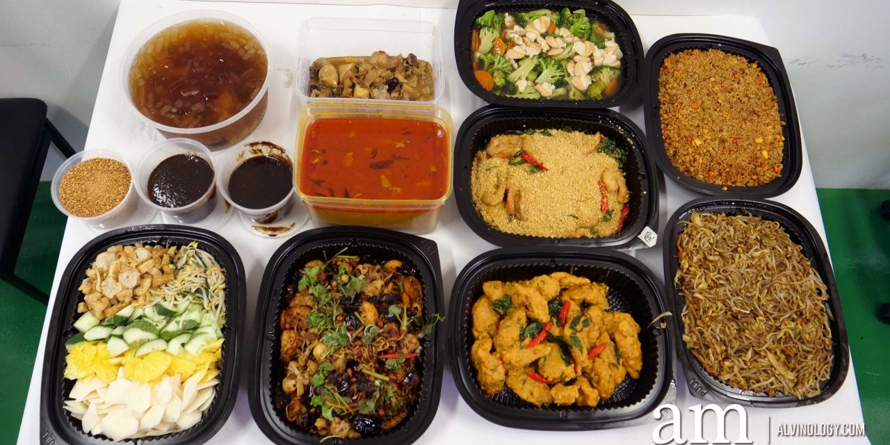 On & On Diners Halal-certified Mini Buffet Catering – perfect for small group gatherings from 15 pax