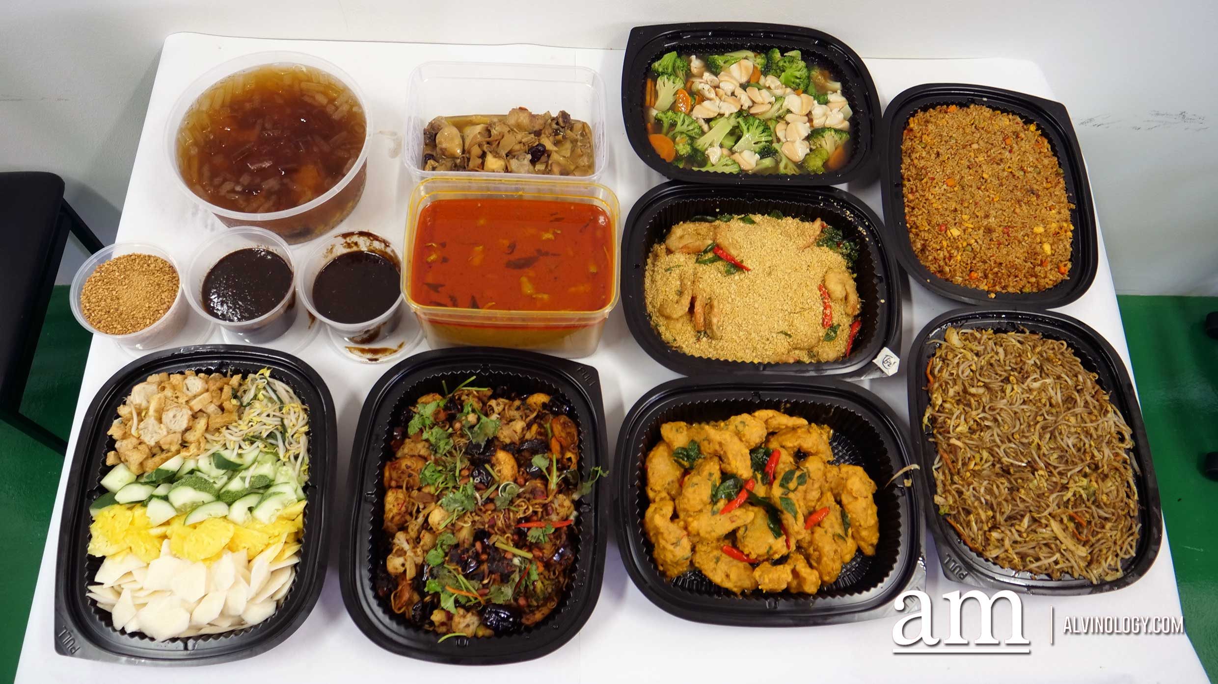 On & On Diners Halal-certified Mini Buffet Catering - perfect for small group gatherings from 15 pax - Alvinology