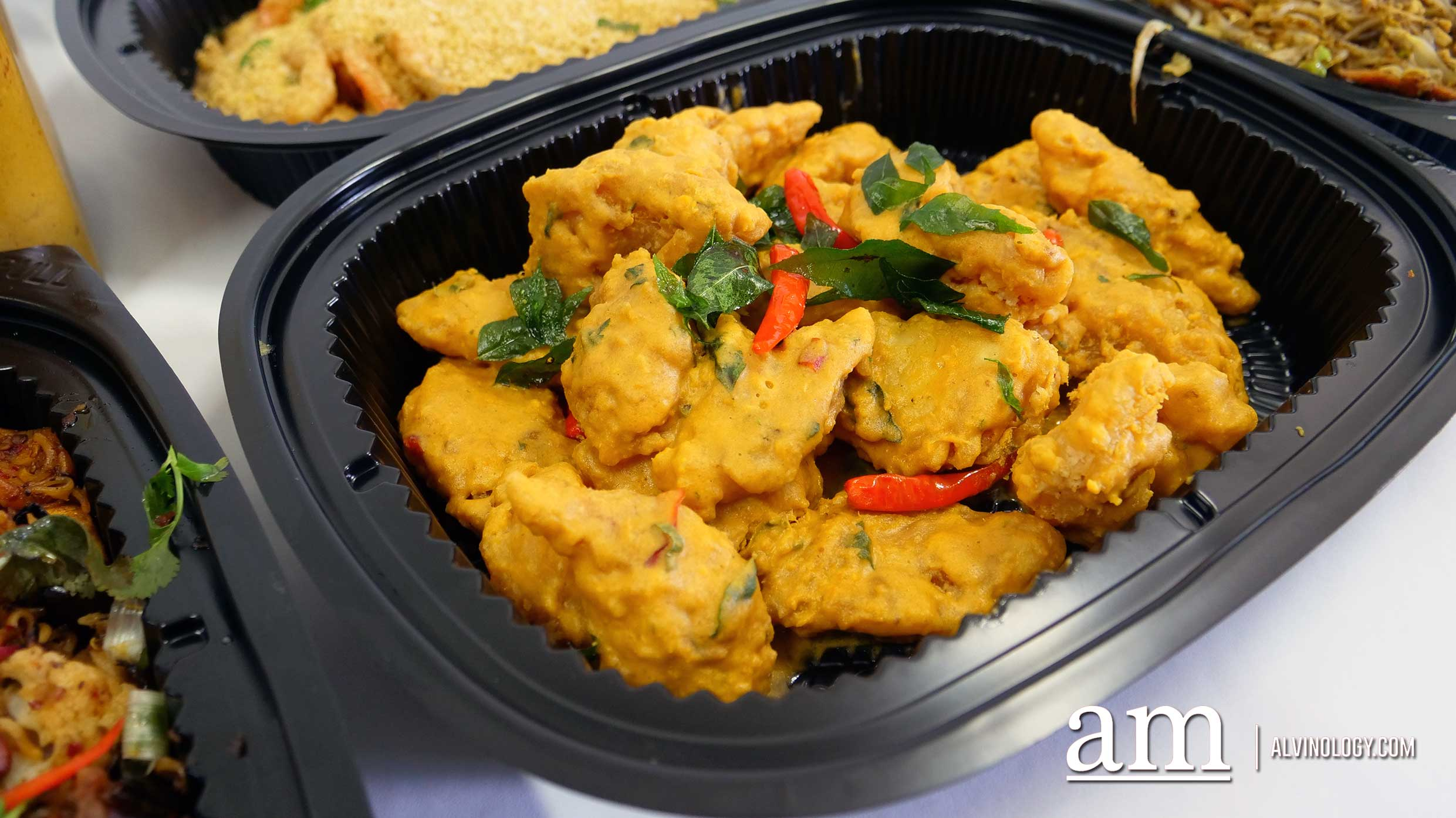 Buttery Salted Egg Yolk Fish
