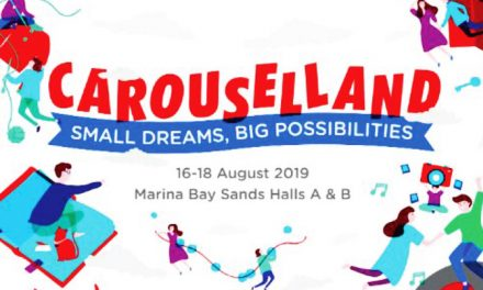 Here's everything you can expect at Carouselland this 16 – 18 August in Marina Bay Sands