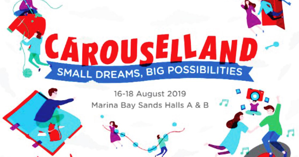 Here's everything you can expect at Carouselland this 16 – 18 August in Marina Bay Sands - Alvinology