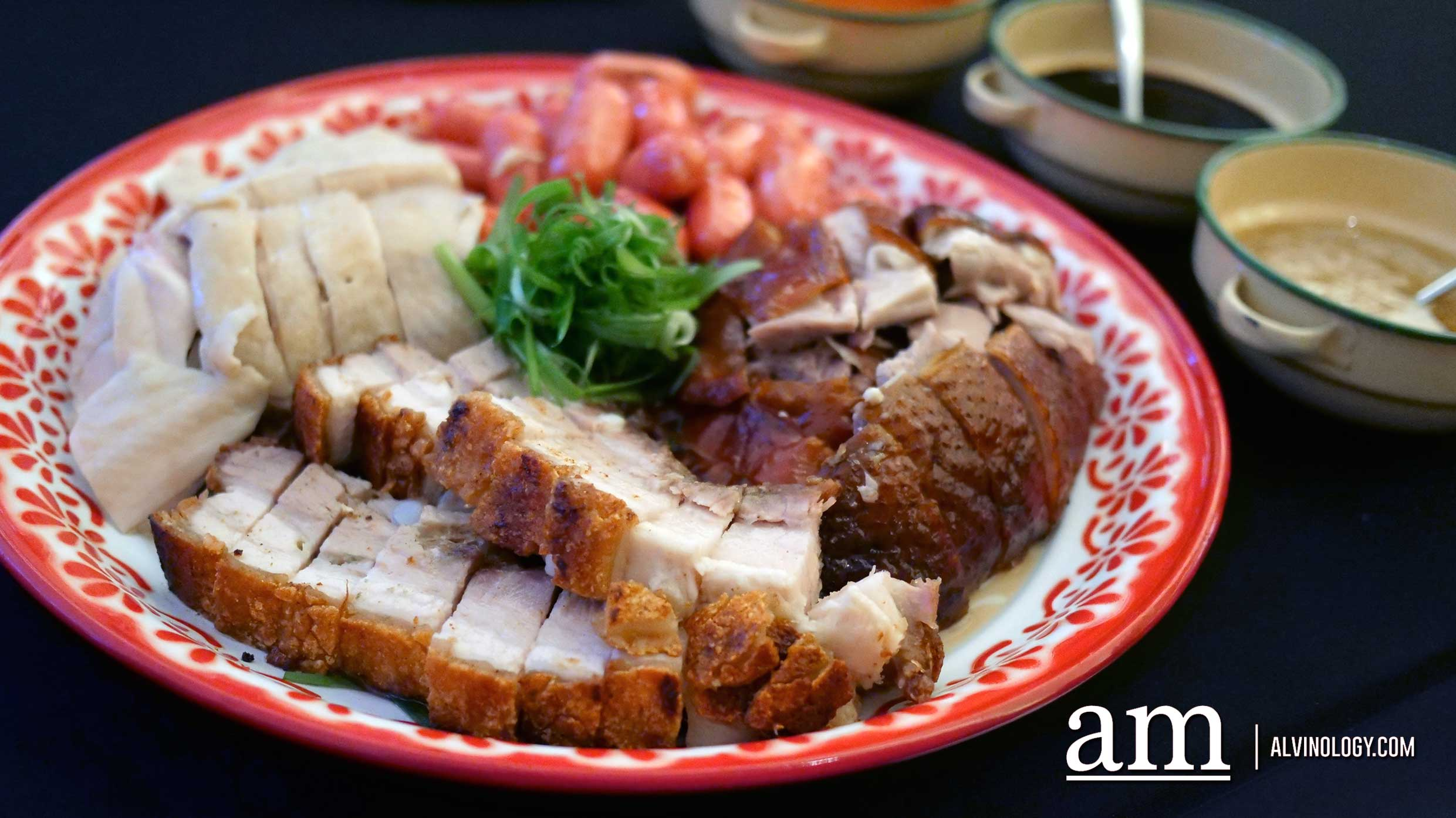 Hainanese Chicken and Cantonese Roast Meats