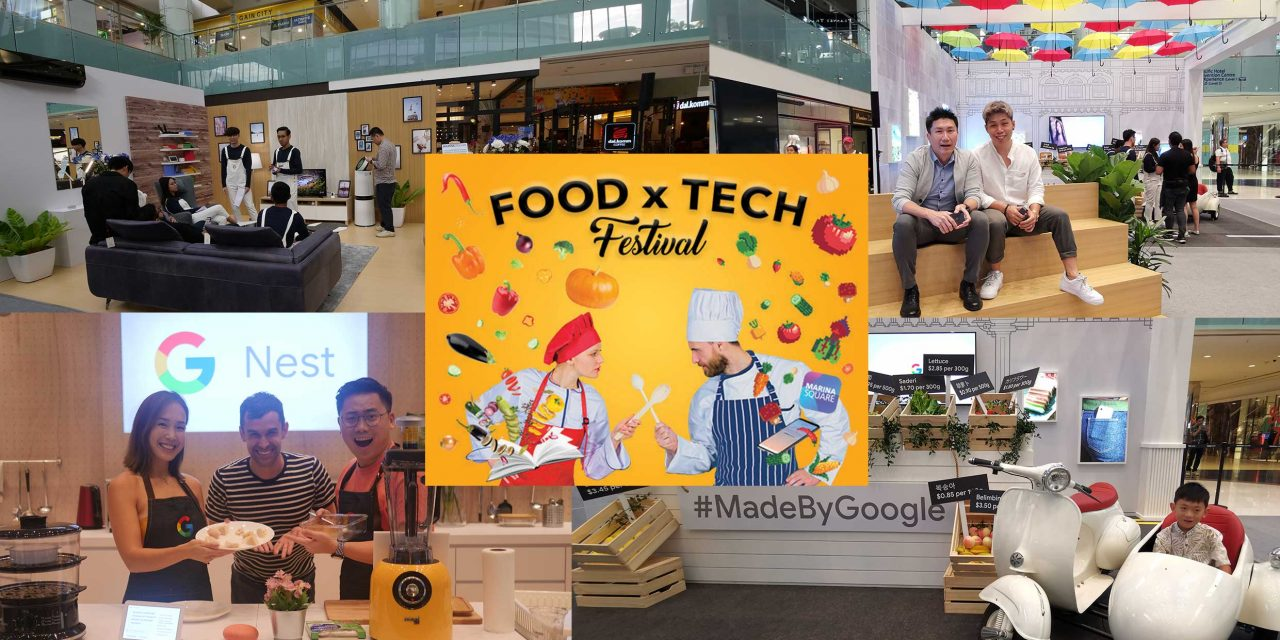 Experience Tony Stark's smart home at Marina Square's Food x Tech Festival with Google