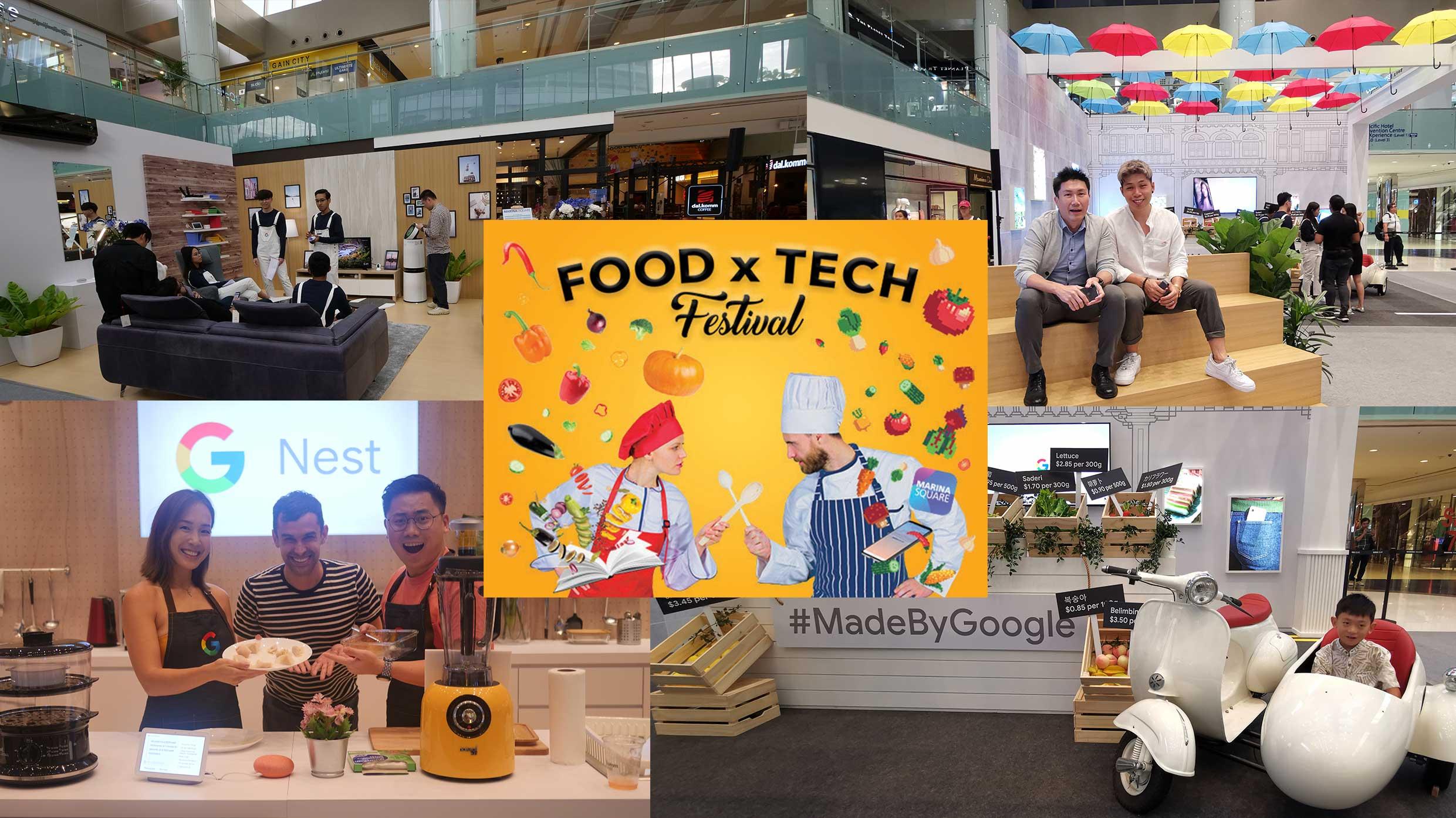 Experience Tony Stark's smart home at Marina Square's Food x Tech Festival with Google - Alvinology