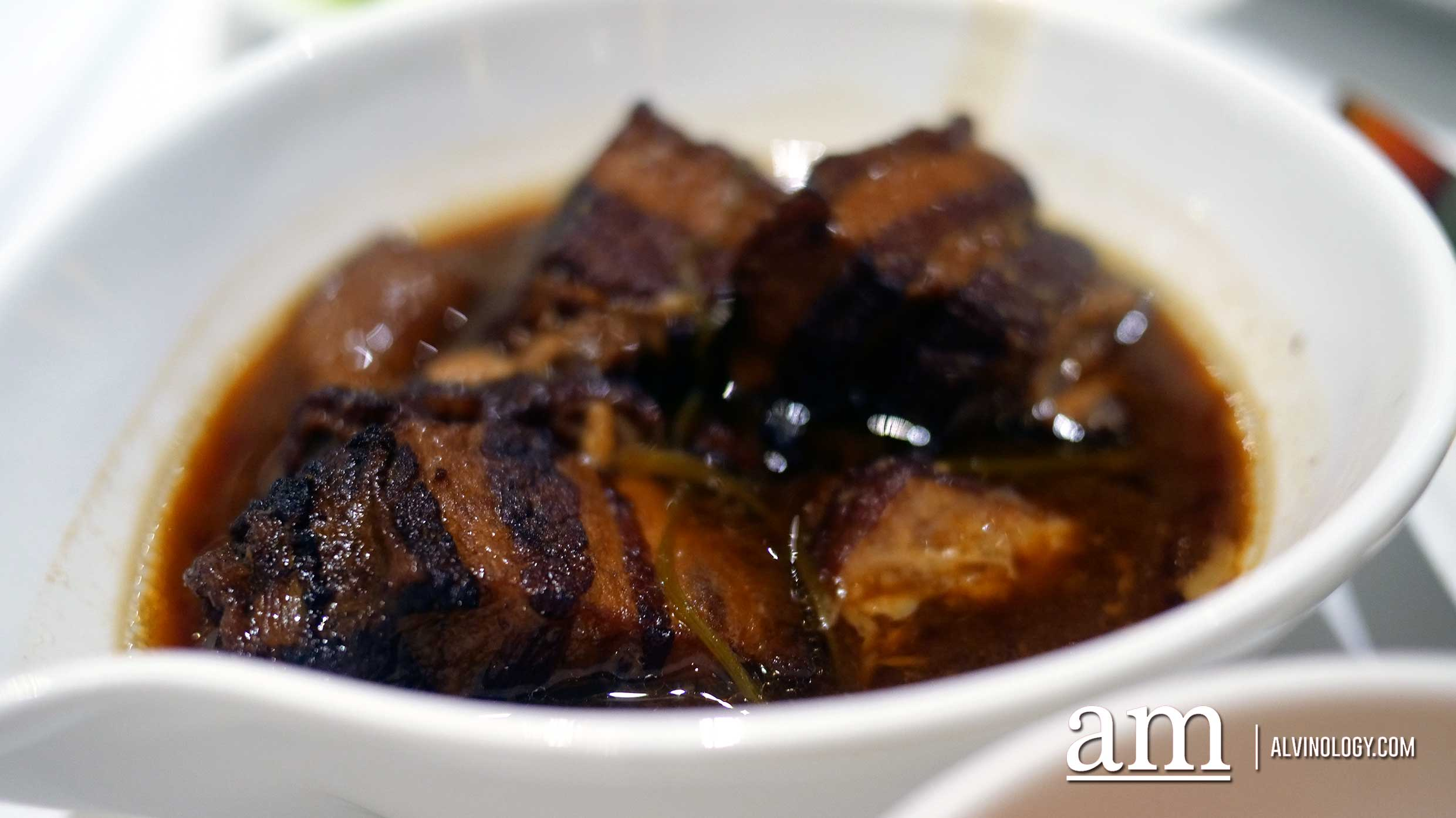 Braised Pork Belly with Dark Soy Sauce 京酱扣肉 ($15++)