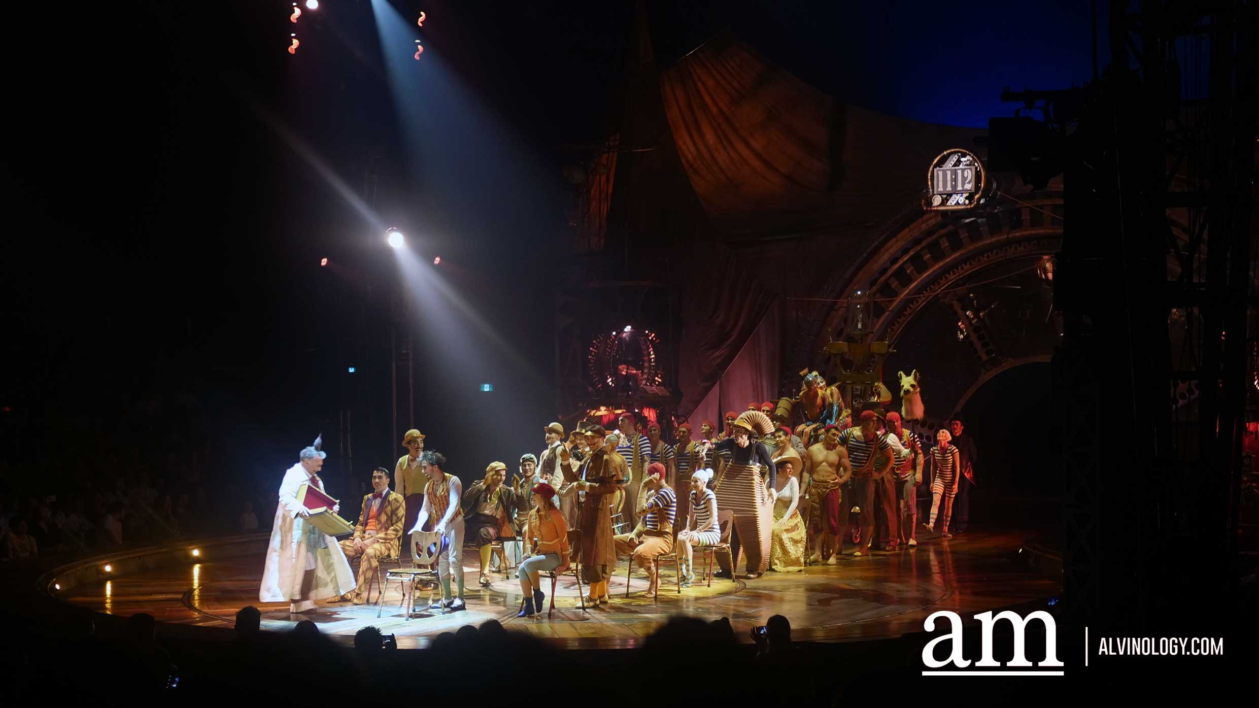 Five Reasons to catch Cirque du Soleil's KURIOS at Marina Bay - Alvinology