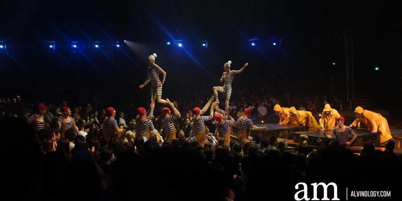 Five Reasons to catch Cirque du Soleil's KURIOS at Marina Bay
