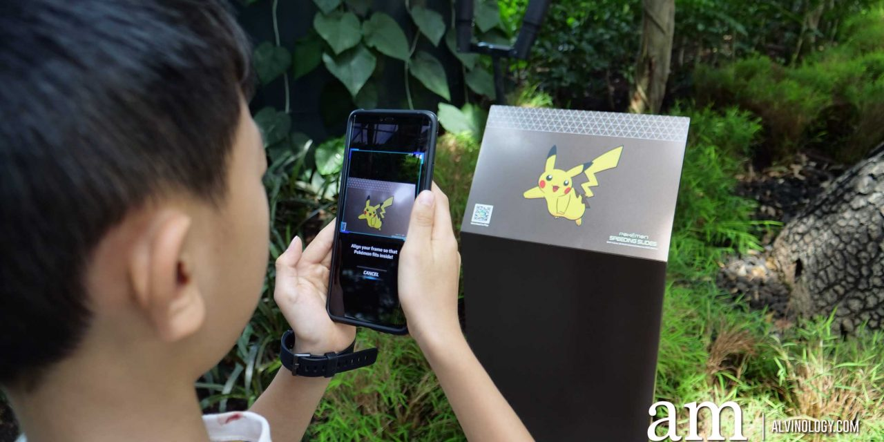 """Do you know there's a """"secret"""" Pokemon game in the Jewel Changi Airport app?"""