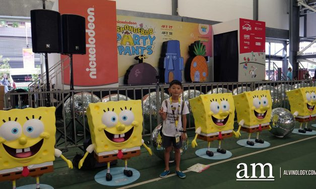 SpongeBob PartyPants at Our Tampines Hub (27 and 28 Jul)