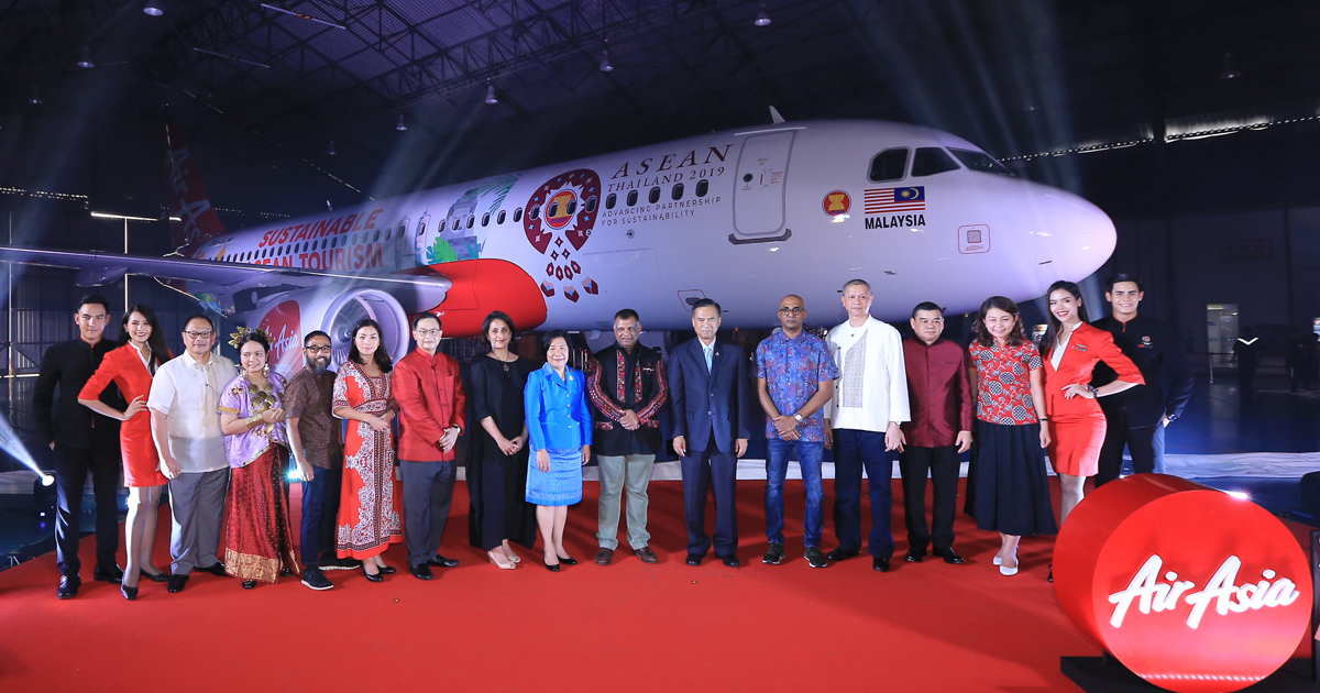 "AirAsia unveils ""Sustainable Asean"" – sustainable effort for educating guests about saving the environment - Alvinology"