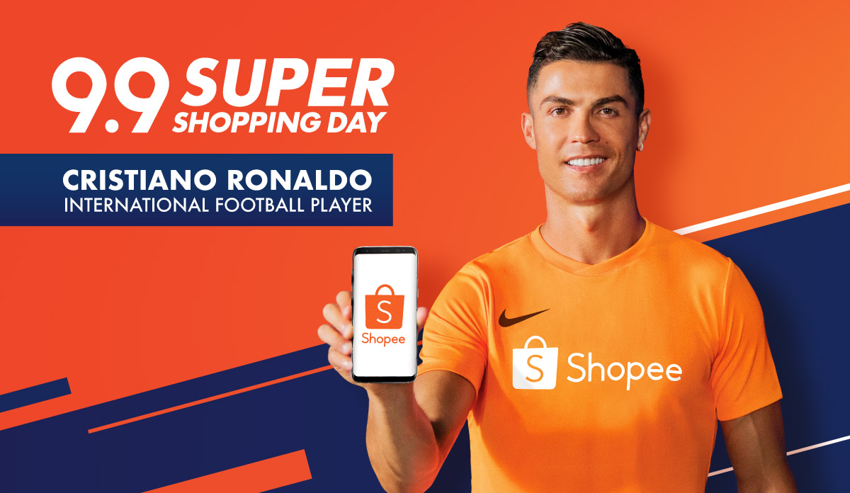 Superstar Cristiano Ronaldo is Shopee's latest Brand Ambassador for the upcoming 9.9 Super Shopping Day - Alvinology