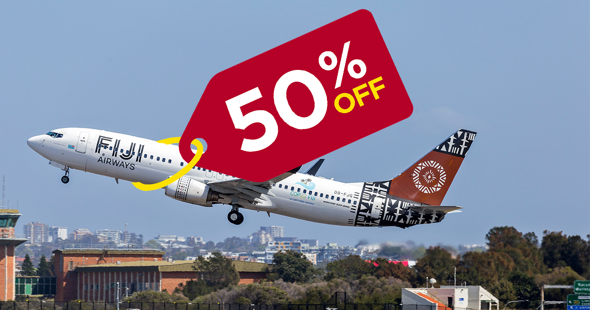 [EYES HERE] Fiji Airways is dropping fare rates by more than 50% until 12 August - Alvinology
