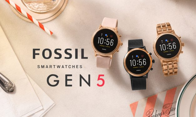 Gen 5 Fossil Touchscreen Smartwatch – now allows Android and iPhone users to answer tethered calls