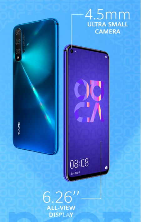 Huawei Nova 5t Is Here The Ultimate Smartphone For Multi