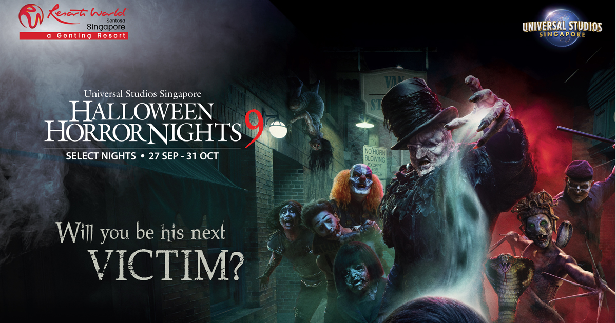 Halloween is coming early at Universal Studios Singapore – First-Ever Haunted House by Renowned Thai Filmmakers