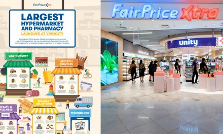 The largest hypermarket and pharmacy outlets of NTUC FairPrice Xtra opens at VivoCity