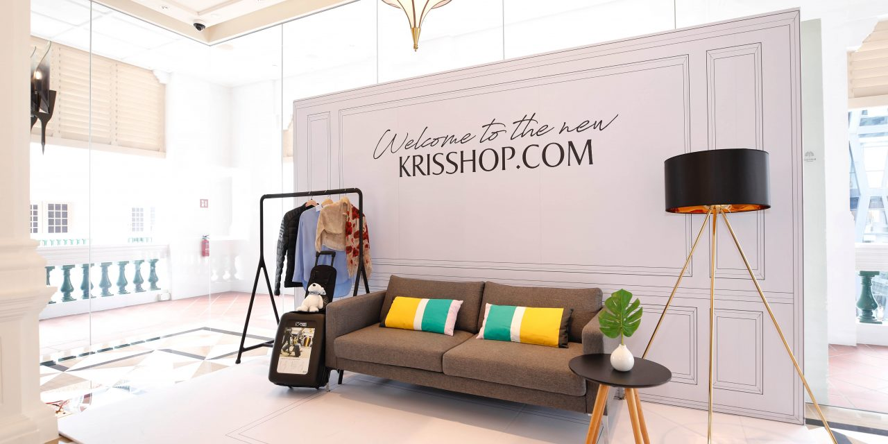 KrisShop celebrates rebranding with an interactive pop-up exhibition at Raffles Hotel's Palm this 23-24 August