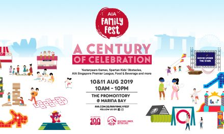 A Bigger and Better AIA Family Fest is happening this weekend (10 – 11 August) – don't miss it