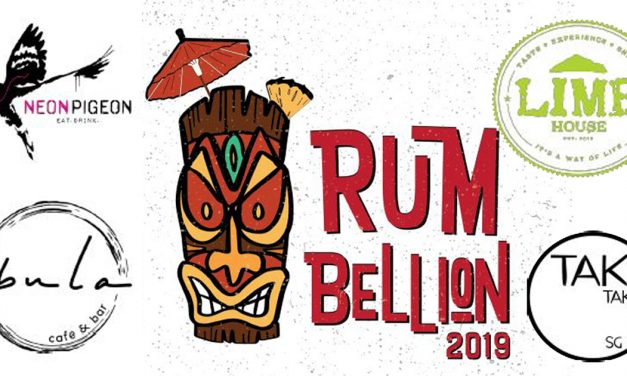 Experience the first ever Singapore Rum Festival at Rum Bellion this October 2019