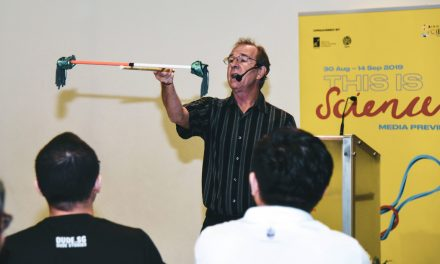 How do plants become t-shirts and why do bubbles form? Know the answer at the Singapore Science Festival