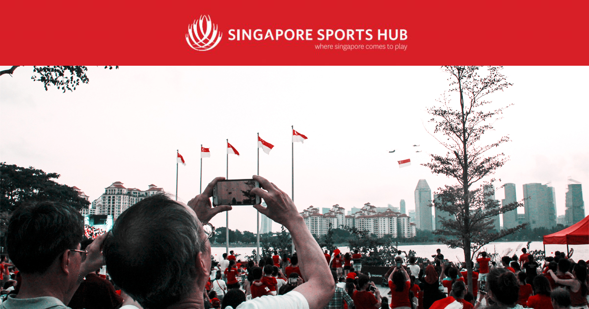 More than 23,000 participated the Sportiest Birthday Bash in Town at the Singapore Sports Hub - Alvinology