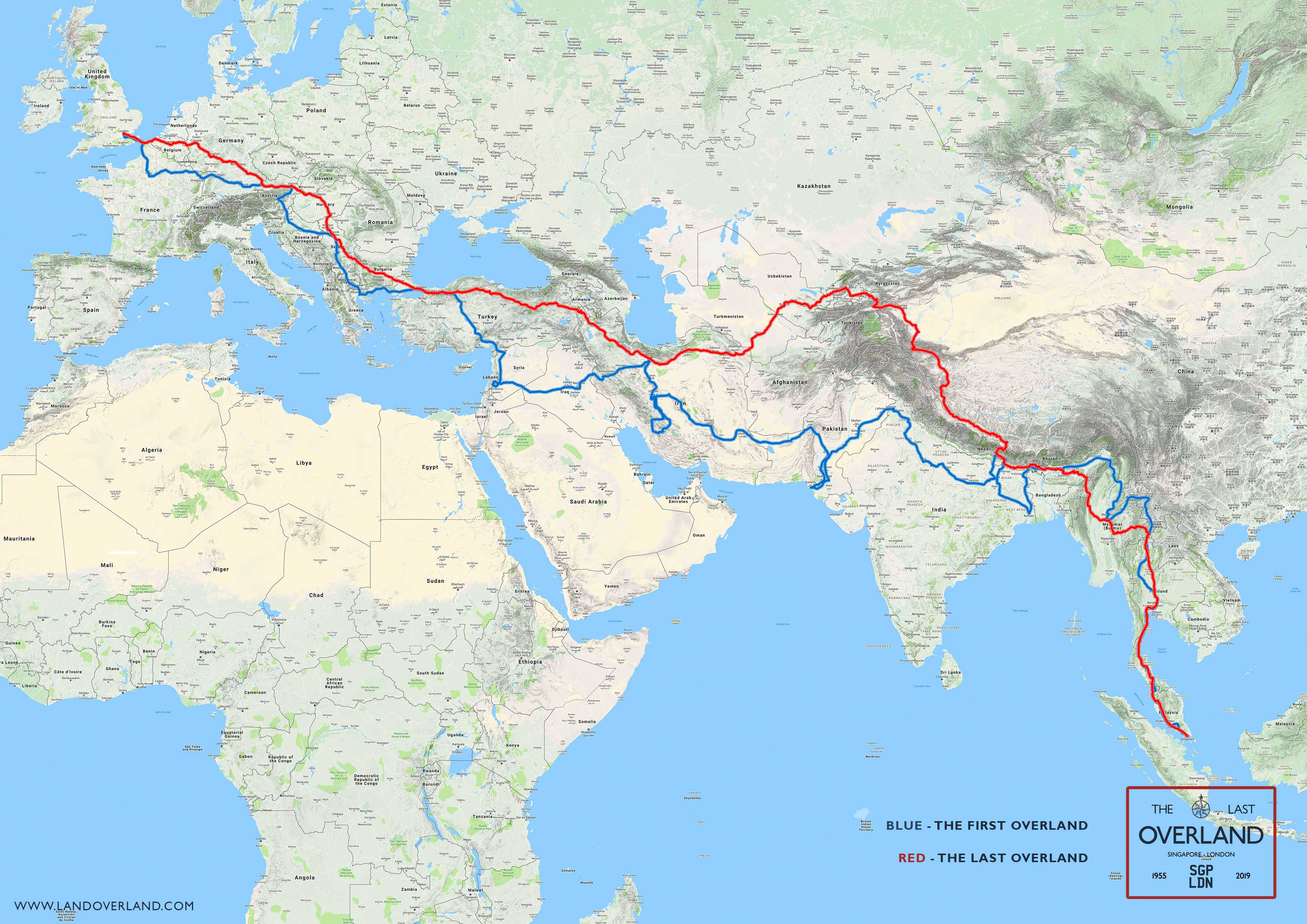 The Last Overland - historic road expedition across 20 cities from Singapore to London - Alvinology