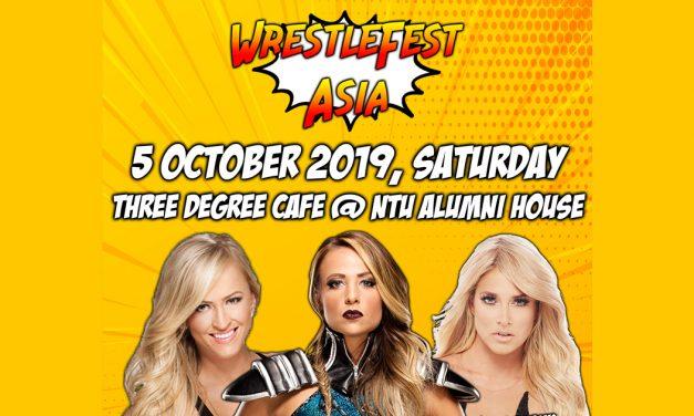 WrestleFest Asia – first-ever Wrestling Fan Meet and Greet featuring former WWE Women Superstars