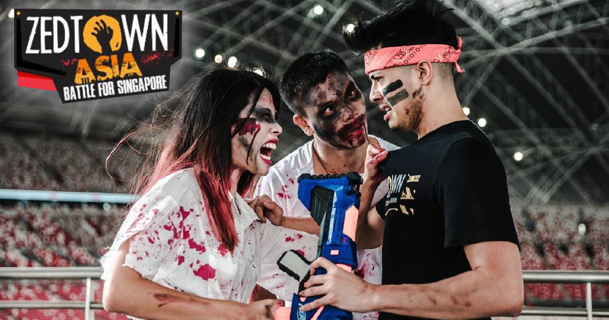 Zedtown Asia: Battle for Singapore - Asia's first-ever zombie survival game happening October 2019 - Alvinology