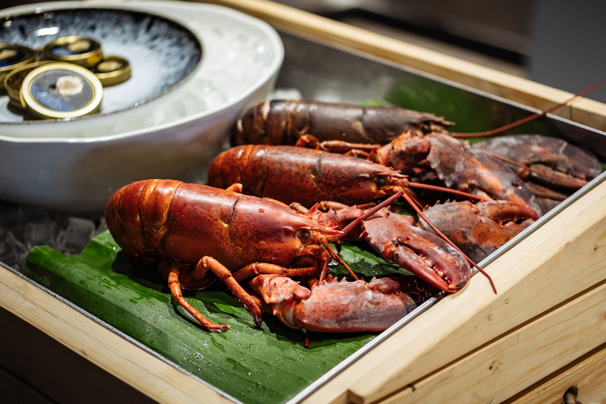 Dine the world's most exclusive papaya salad with lobster, caviar, and champagne or chardonnay at akyra Thonglor Bangkok Hotel - Alvinology