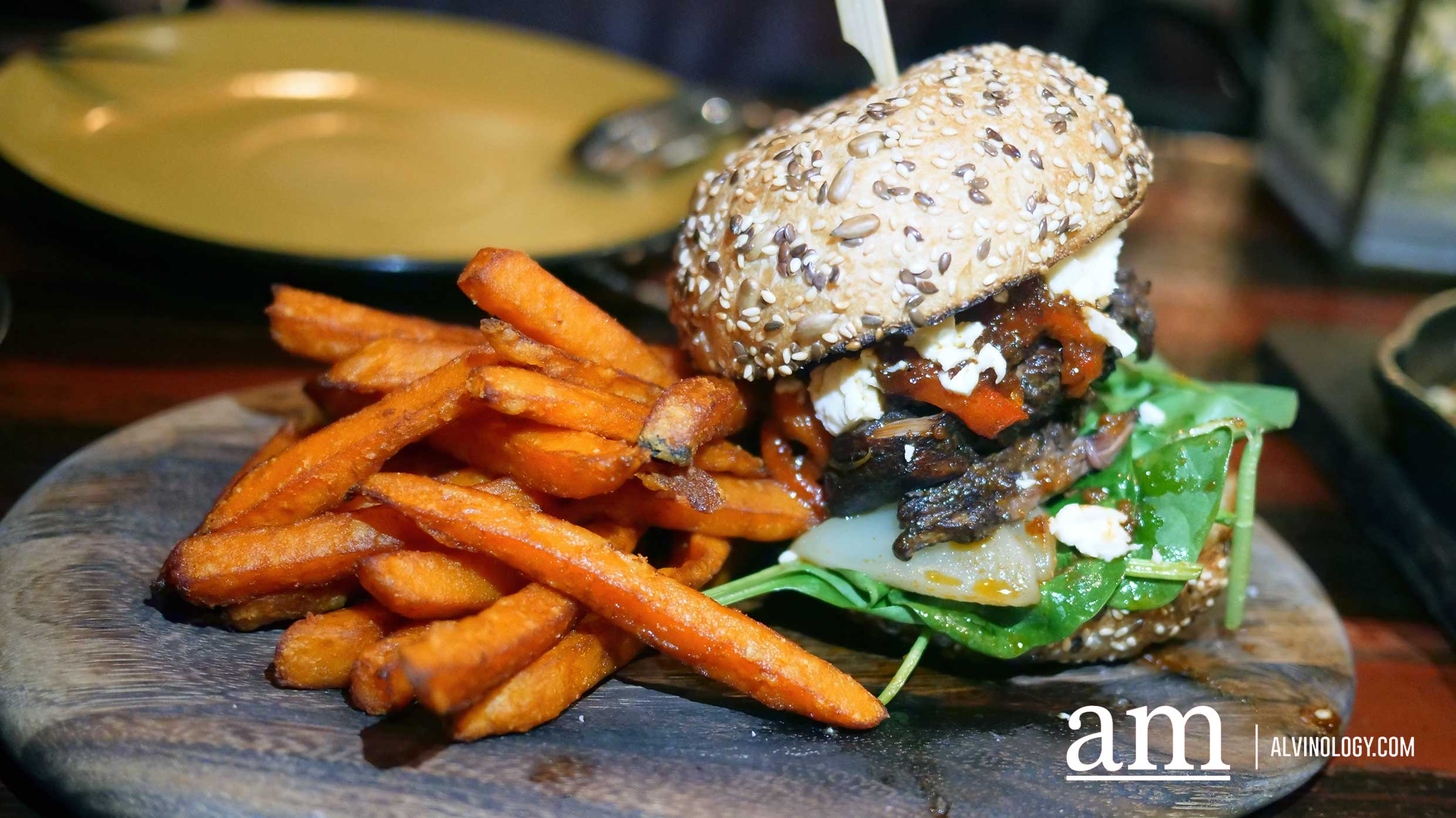 21 Days Aged Pulled Lamb Burger ($42++)
