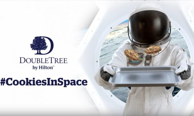 This Chocolate Chip Cookie by DoubleTree by Hilton will become the First Food Baked in Space
