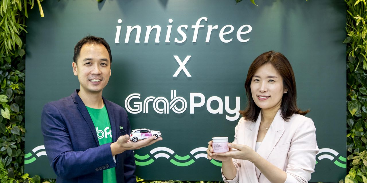 Enjoy in-car skincare and exclusive promotions with the new innisfree x GrabPay partnership