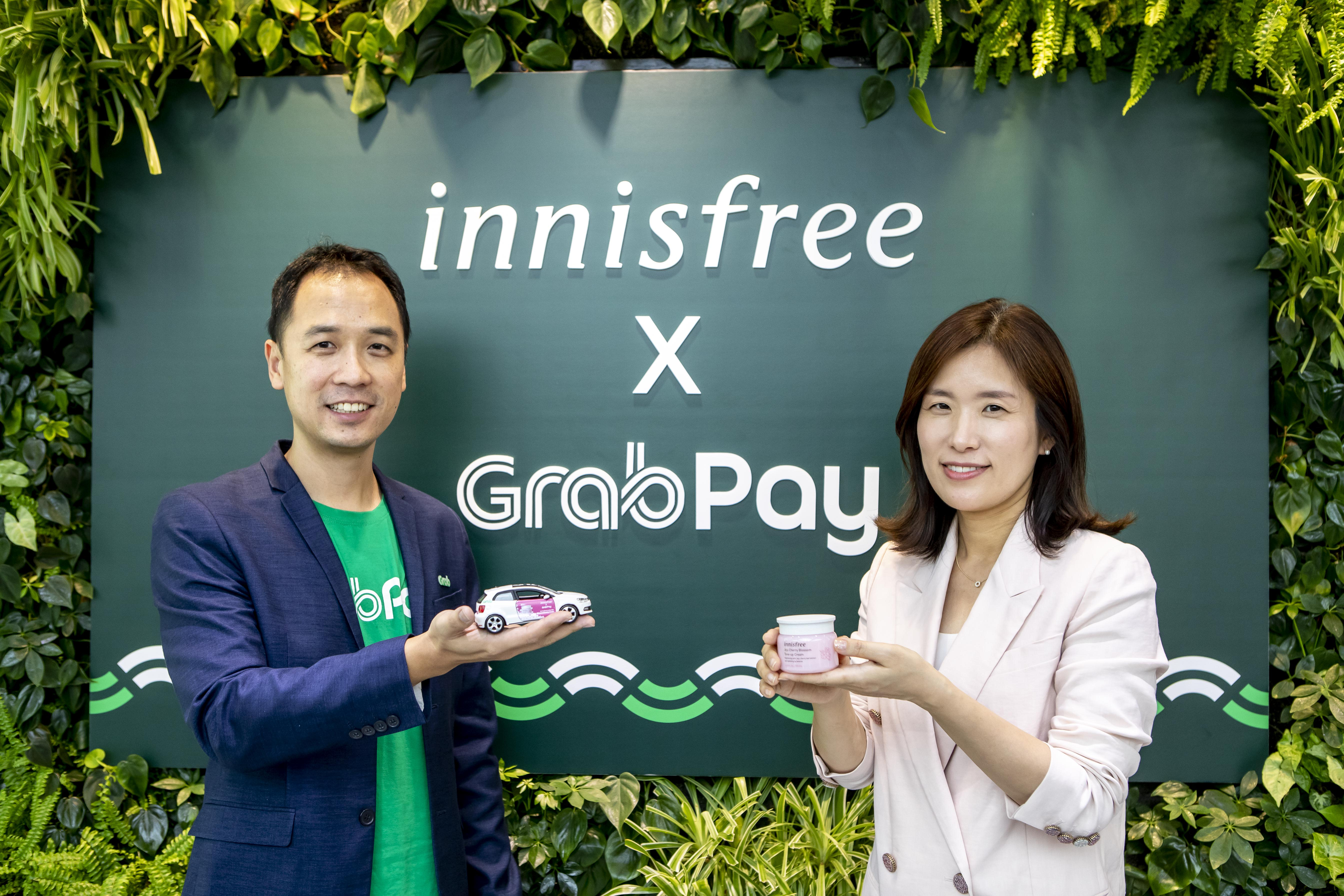 Enjoy in-car skincare and exclusive promotions with the new innisfree x GrabPay partnership - Alvinology
