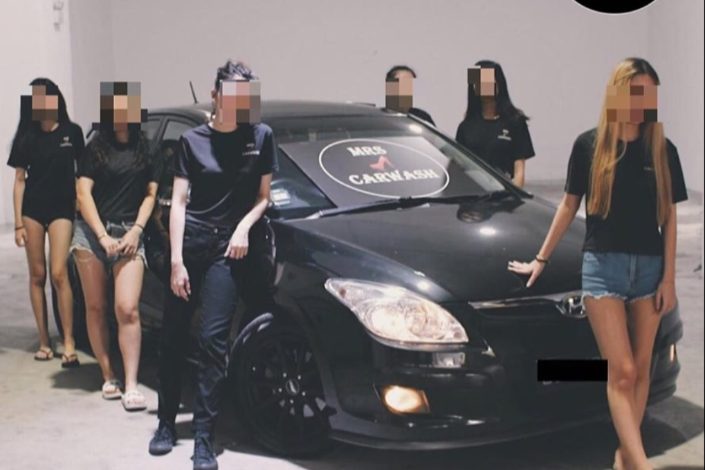 Singapore's first all-female car wash MrsCarWash set to open on National Day with no bikinis - Alvinology