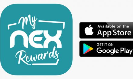 my NEXrewards – NEX's mobile loyalty app, register today and get a chance to win 100,000 NEXpoints