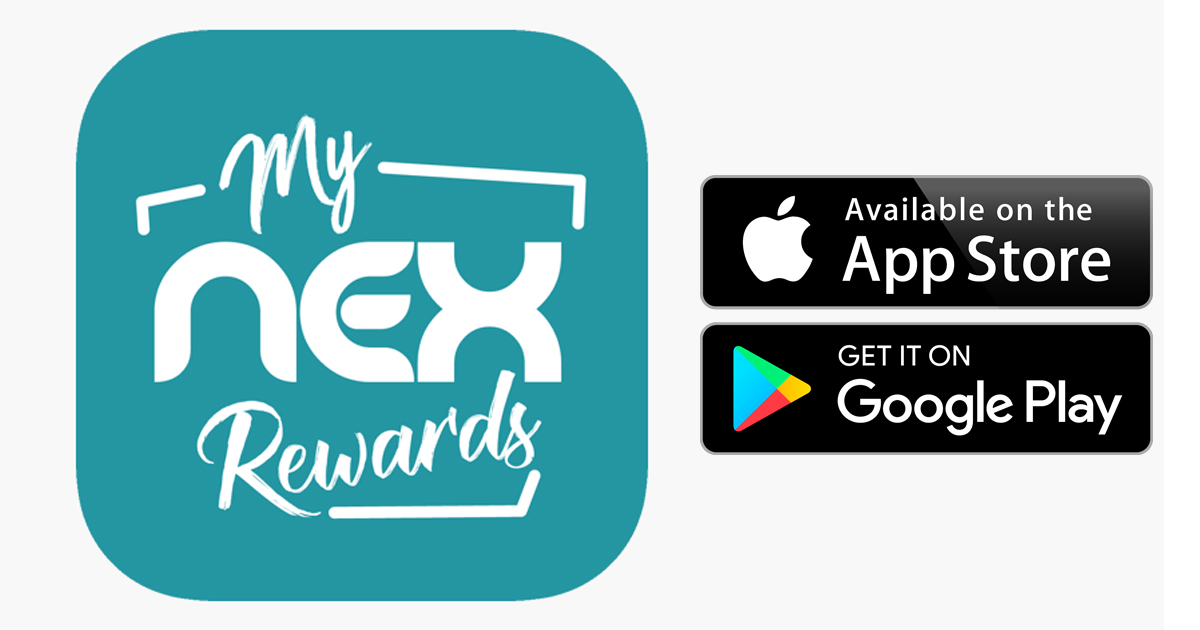 my NEXrewards – NEX's mobile loyalty app, register today and get a chance to win 100,000 NEXpoints - Alvinology