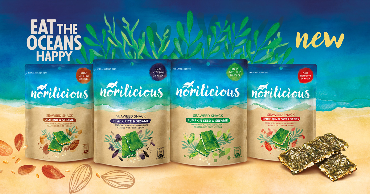 Norilicious – here's a seaweed snack created with the ocean in mind, and it tastes good too