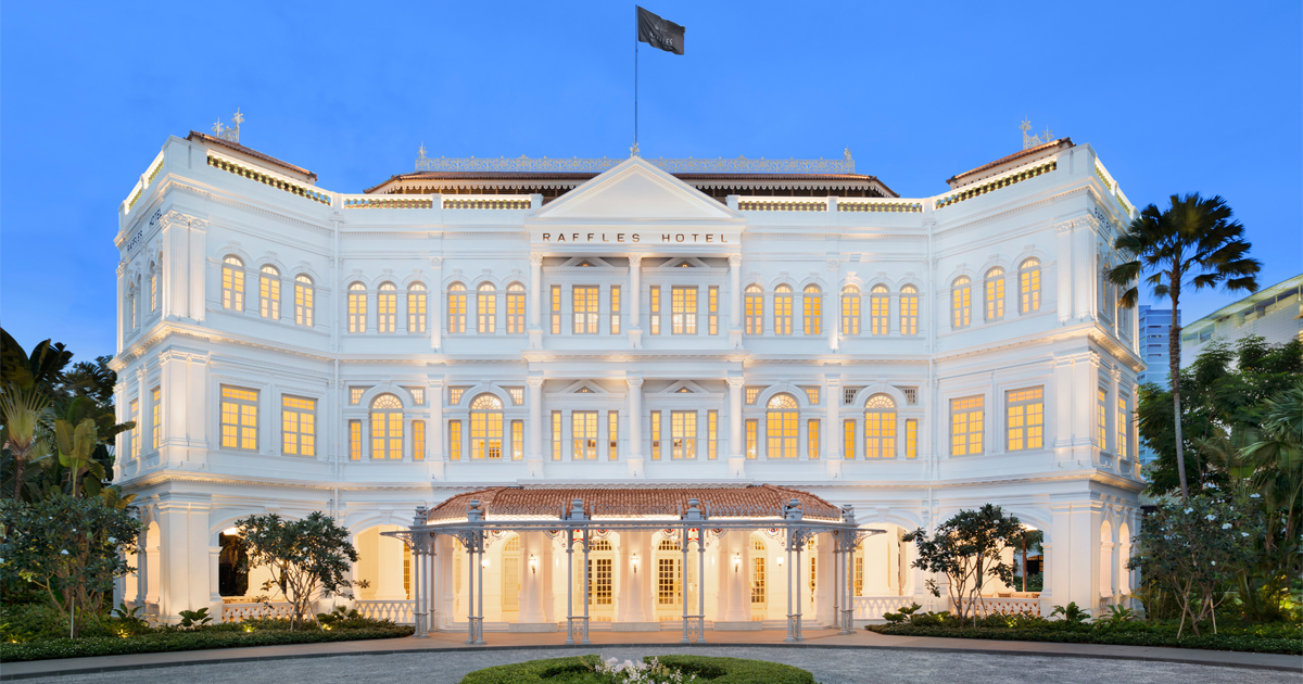 Raffles Hotel Singapore finally reopens this August offering a new era of luxury - Alvinology