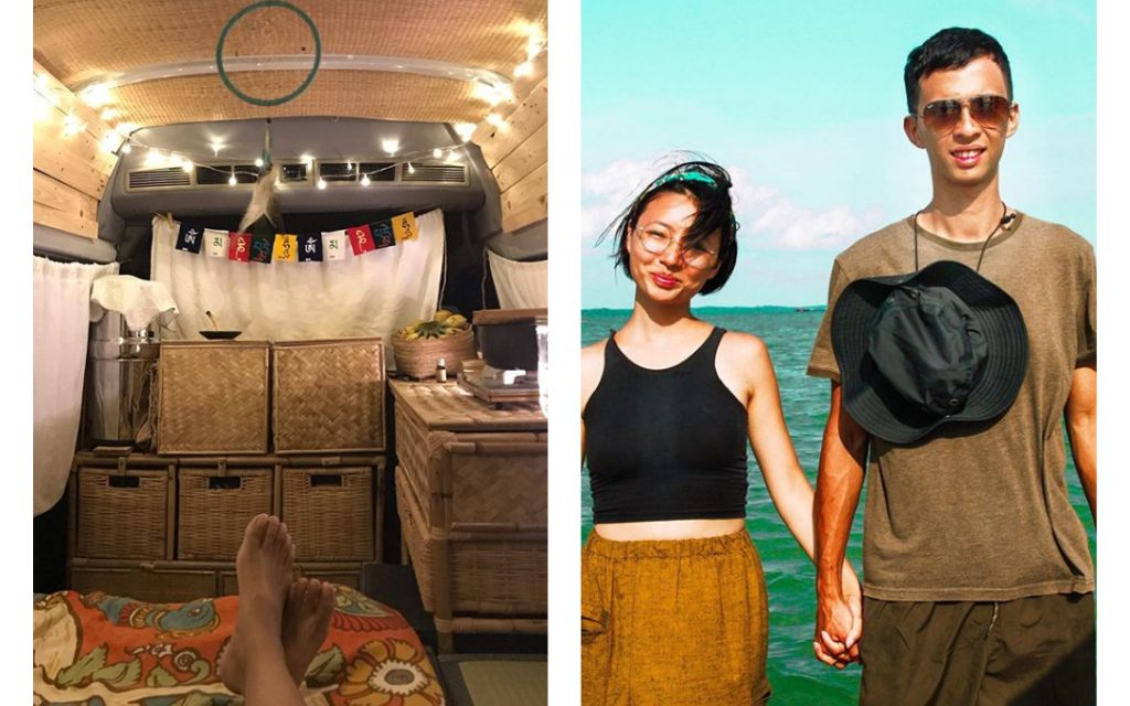 30-year-old couple quit jobs to drive from Malaysia to Portugal in $11,000 van