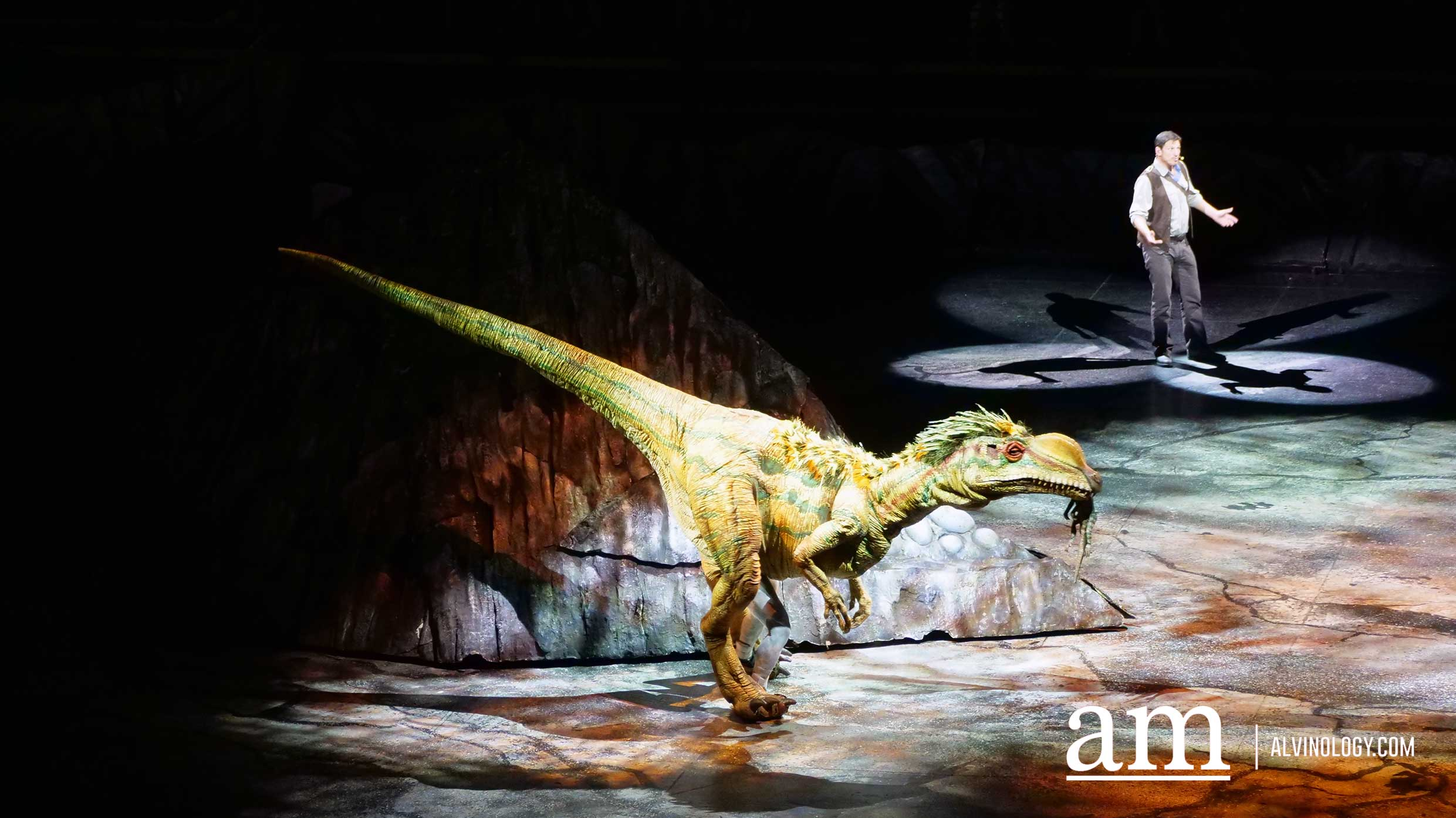 Walking with Dinosaurs - The Live Experience Returns to Singapore - Alvinology